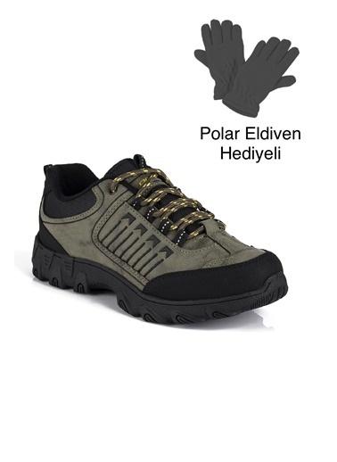 Muggo Outdoor Ayakkabı Haki